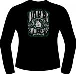 T-Shirt langarm mit Druck F 5064