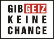 """Textil mit Druck F 5120 """"Gib Geiz"""", 2XL-12XL Größe Wählen:"""