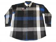 Hemd langarm in Übergröße 5XL
