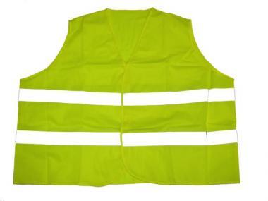 Reflex Warnweste in Übergröße Neon Gelb 10XL Gelb