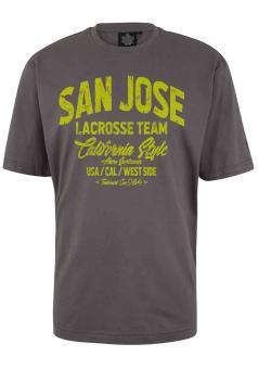 T-Shirt mit Druck von Ahorn Sport 10XL Grau