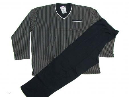 Schlafanzug lang in Übergröße