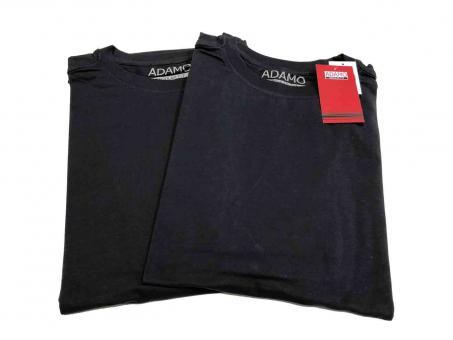 Doppelpack T-Shirt in Übergröße  Navy