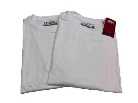 Doppelpack T-Shirt in Übergröße  Weiß
