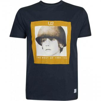 U2-T-Shirt  in Übergröße Original Lizenz