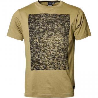 T-Shirt in Übergröße 4XL Khaki