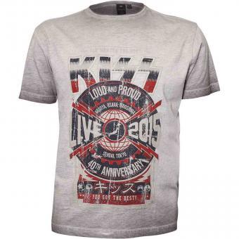 Kiss-T-Shirt  in Übergröße Original Lizenz