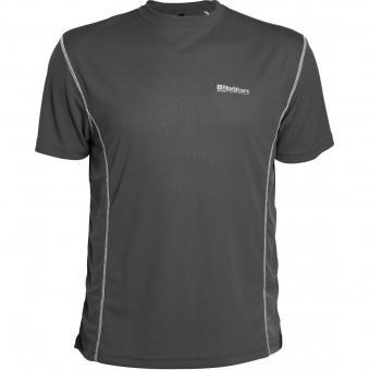 Funktions-Shirt in Übergröße Anthrazit
