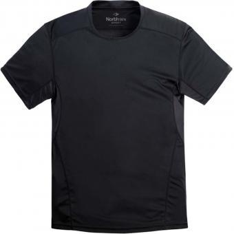 Funktions-Shirt in Übergröße Schwarz