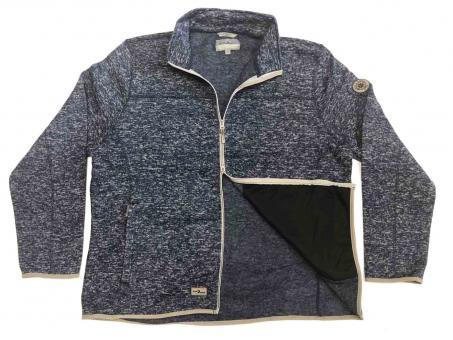 Strick-Fleece-Jacke in Übergröße