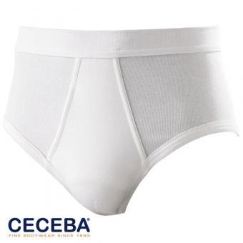 Sport Slip Feinripp von CECEBA, Weiß