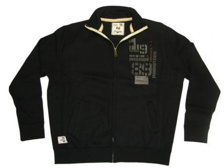 Sweat-Jacke in Übergröße