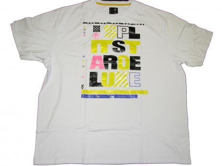 T-Shirt Rundhals in Übergröße