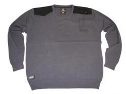 Strick-Sweat-Shirt in Übergröße