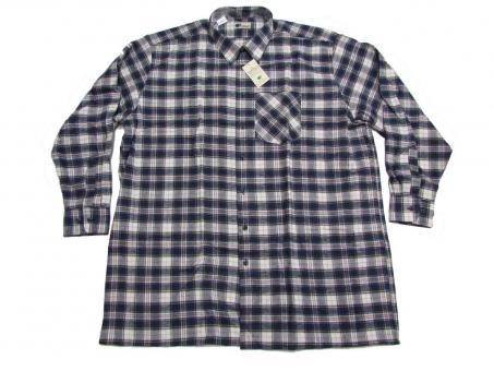 Arbeit / Flanell-Hemd langarm in Übergröße,