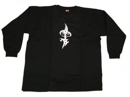 Sweatshirt mit Druck in Übergröße F 2005