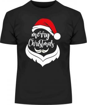 Weihnachts-Druck Merry Christmas T-Shirt mit Druck 7130 2XL - 12XL Größe Wählen: