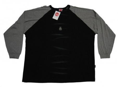 Sweat-Shirt ohne Bund mit Druck