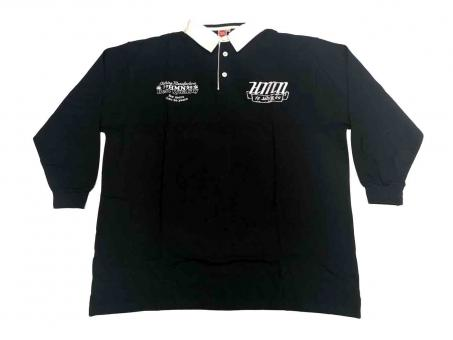 Polo-Shirt langarm in Übergröße