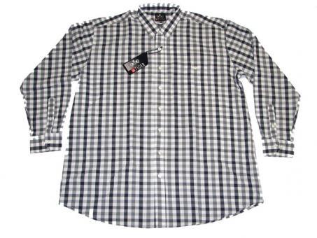 Karo-Hemd Langarm in Übergrößen