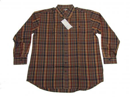 Hemd langarm in Übergröße, 3XL