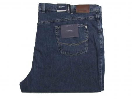 Basic-Stretch Jeans Hose Five-Pocket  von PIONIER Gr 75 Stone