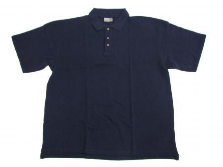 Polo Shirt in Übergröße, Navy