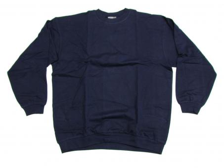 Sweat Shirt in Übergröße, Navy