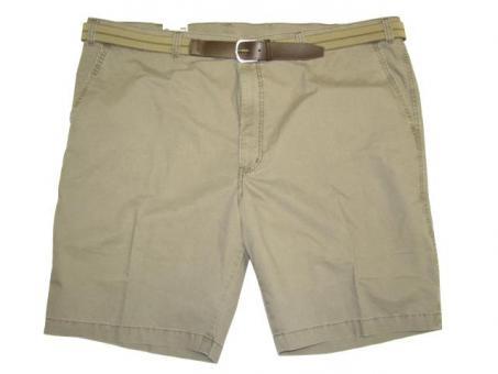 Stretch-Jeans-Short Bundfalte von PIONIER