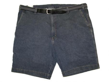 Stretch-Jeans Short Bundfalte von PIONIER