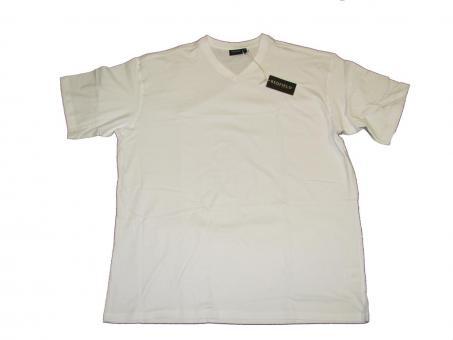 T-Shirt V-Neck in Übergröße