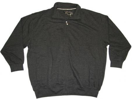 Sweat-Jacke langarm in Übergröße