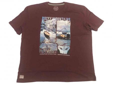 T-Shirt kurzarm in Übergröße
