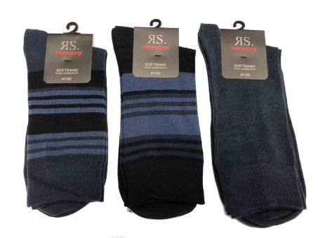 3 paar Socken ohne Gummidruck mit Softrand
