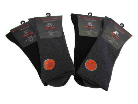 4 paar Socken ohne Gummi mit Softrand