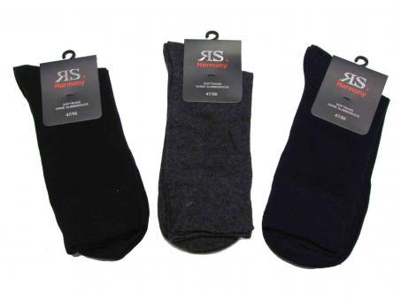 3 paar Socken ohne Gummi mit Softrand