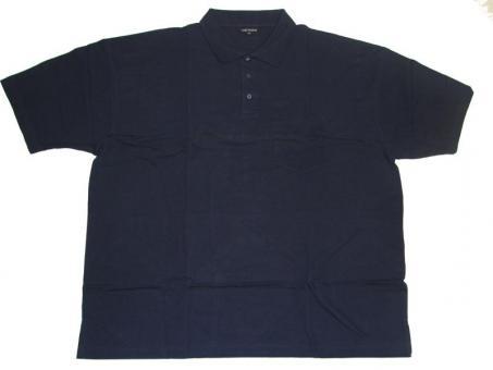 Polo-Shirt in Übergröße Marine