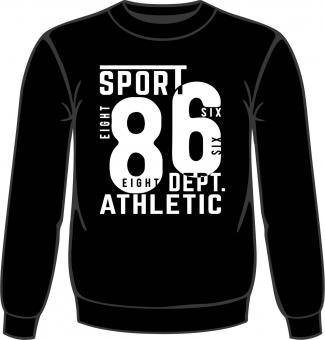 Sweat-Shirt mit Druck 5074 in Übergröße