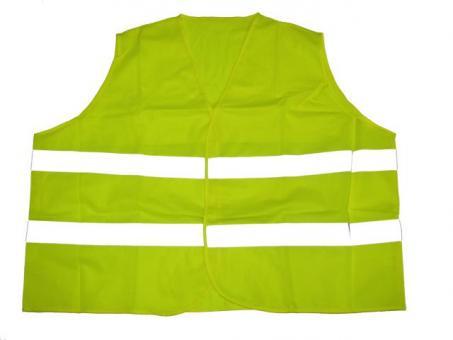 Reflex Warnweste in Übergröße Neon Gelb 8XL Gelb