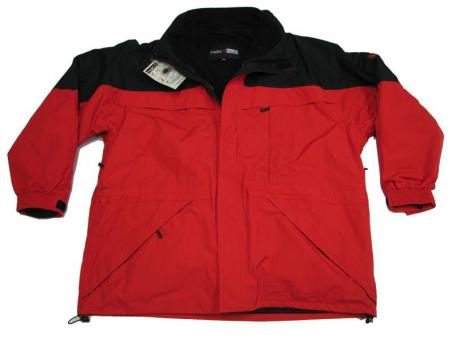 3in1 Funktions- Jacke Rot 10XL Rot