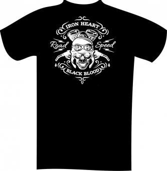 T-Shirt mit Druck in Übergröße 4XL