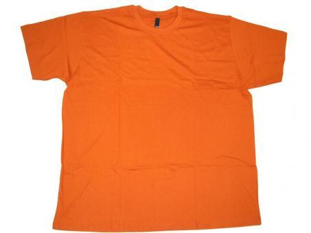 T-Shirt in Übergröße Orange