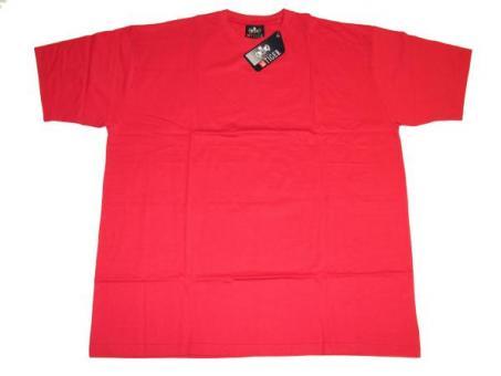 T-Shirt in Übergröße  Rot