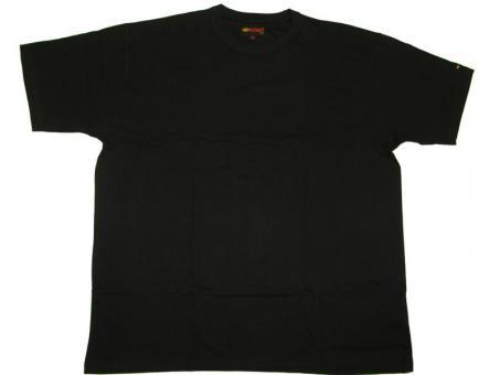 T-Shirt in Übergröße  Schwarz