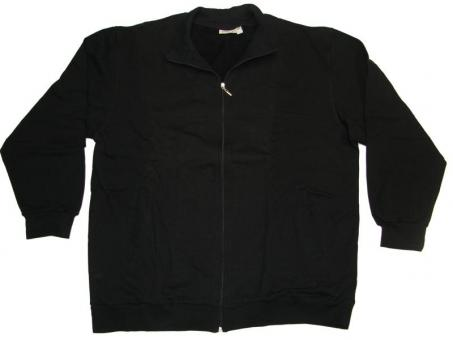 Sweat-Jacke in Übergröße Marine