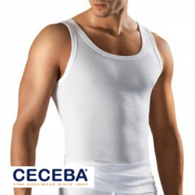 Sportjacke Feinripp von CECEBA, Weiß