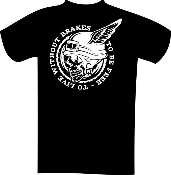 T-Shirt mit Druck in Übergröße 7XL