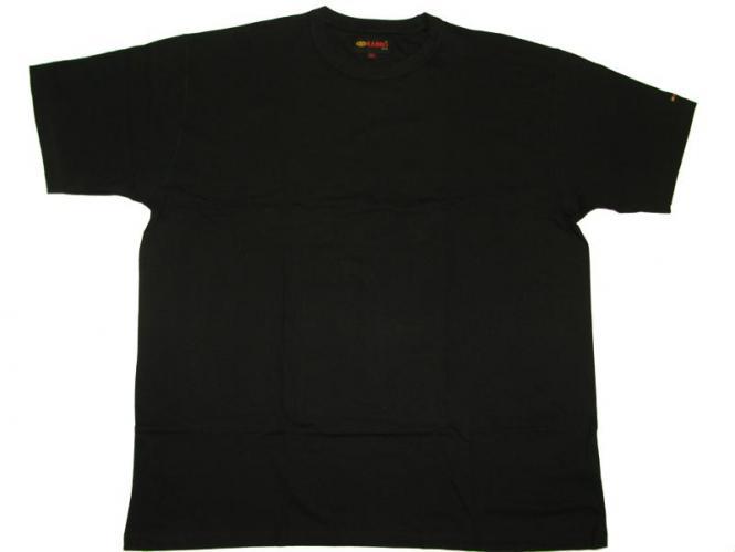 T-Shirt in Übergröße  Schwarz 7XL Schwarz