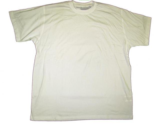 T-Shirt in Übergröße  Weiß