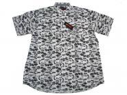 Hawai-Hemd kurzarm in Übergröße 6XL